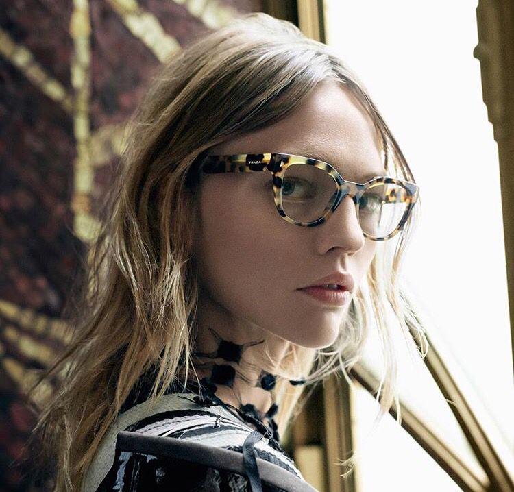 f21550f3a2e8 Prada SS16 women s optical frames collection. Prada eyewear ...