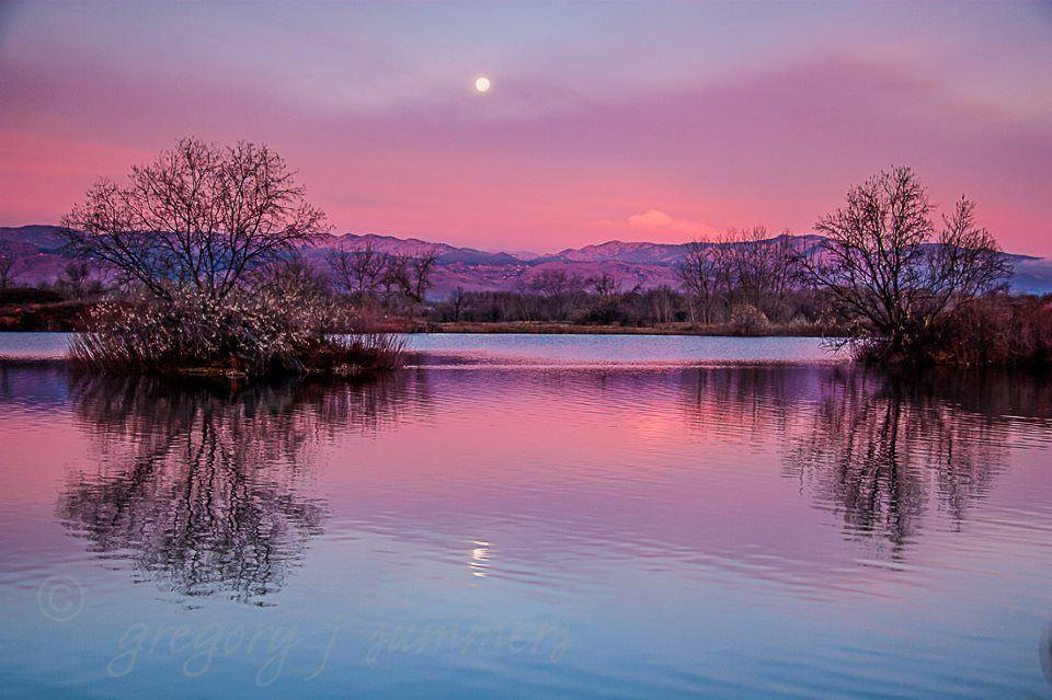 From sawhill ponds near boulder colorado colorado