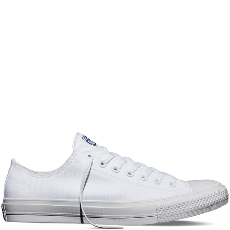 38b2c8393b33 Converse - Chuck Taylor All Star II -White - Low Top (all white
