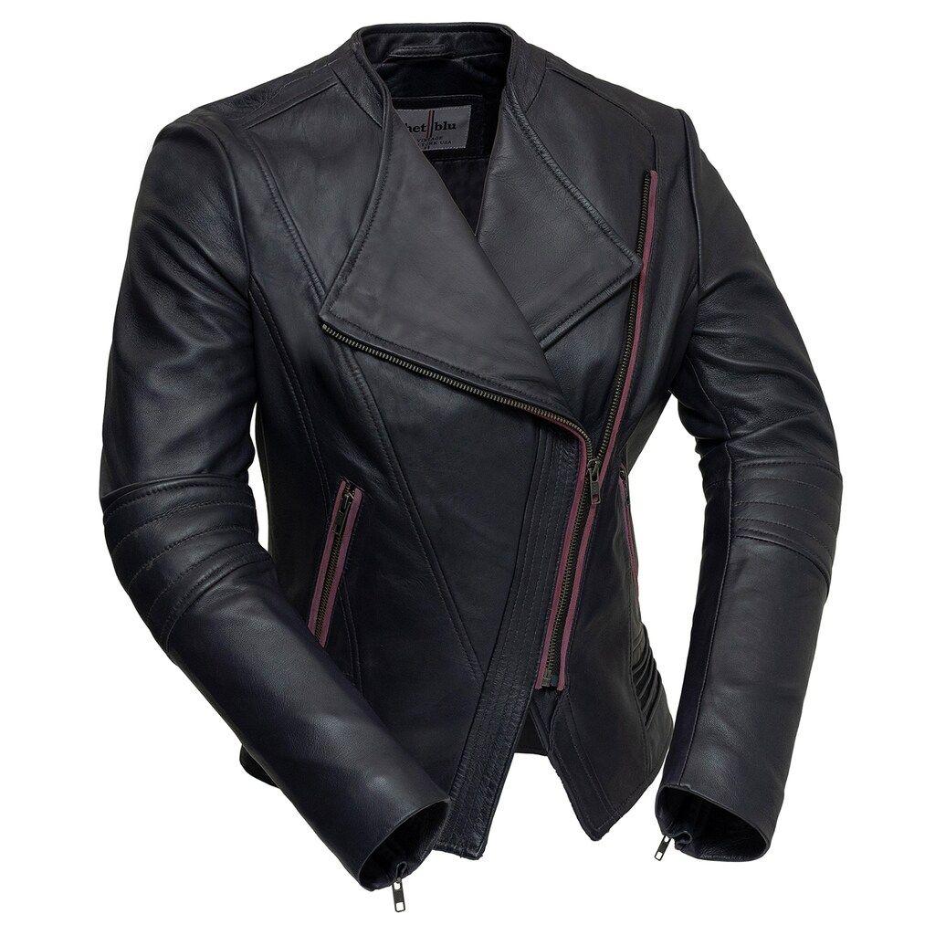 Women S Whet Blu Trish Asymmetrical Leather Jacket In 2021 Leather Jackets Women Asymmetrical Leather Jacket Leather Jacket Style [ 1024 x 1024 Pixel ]