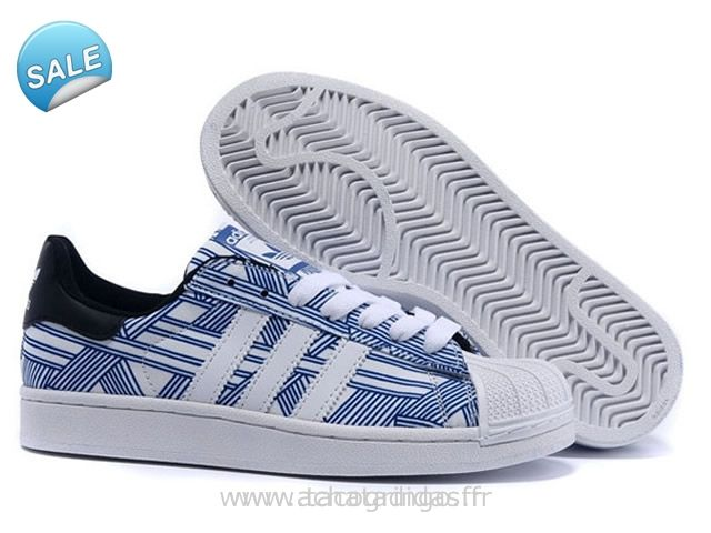 97c8ae50408 Officiel Adidas superstar supercouleur Bleu Blanc Adidas Superstar Noir Et  Or Adidas Superstar Limited