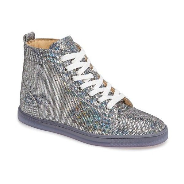 Women s Christian Louboutin Bip Bip High Top Sneaker ( 945) via Polyvore  featuring shoes 04fa02ed10