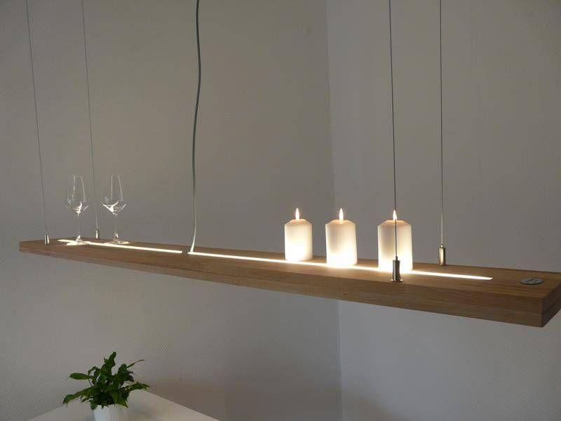 esstisch lampe aus holz