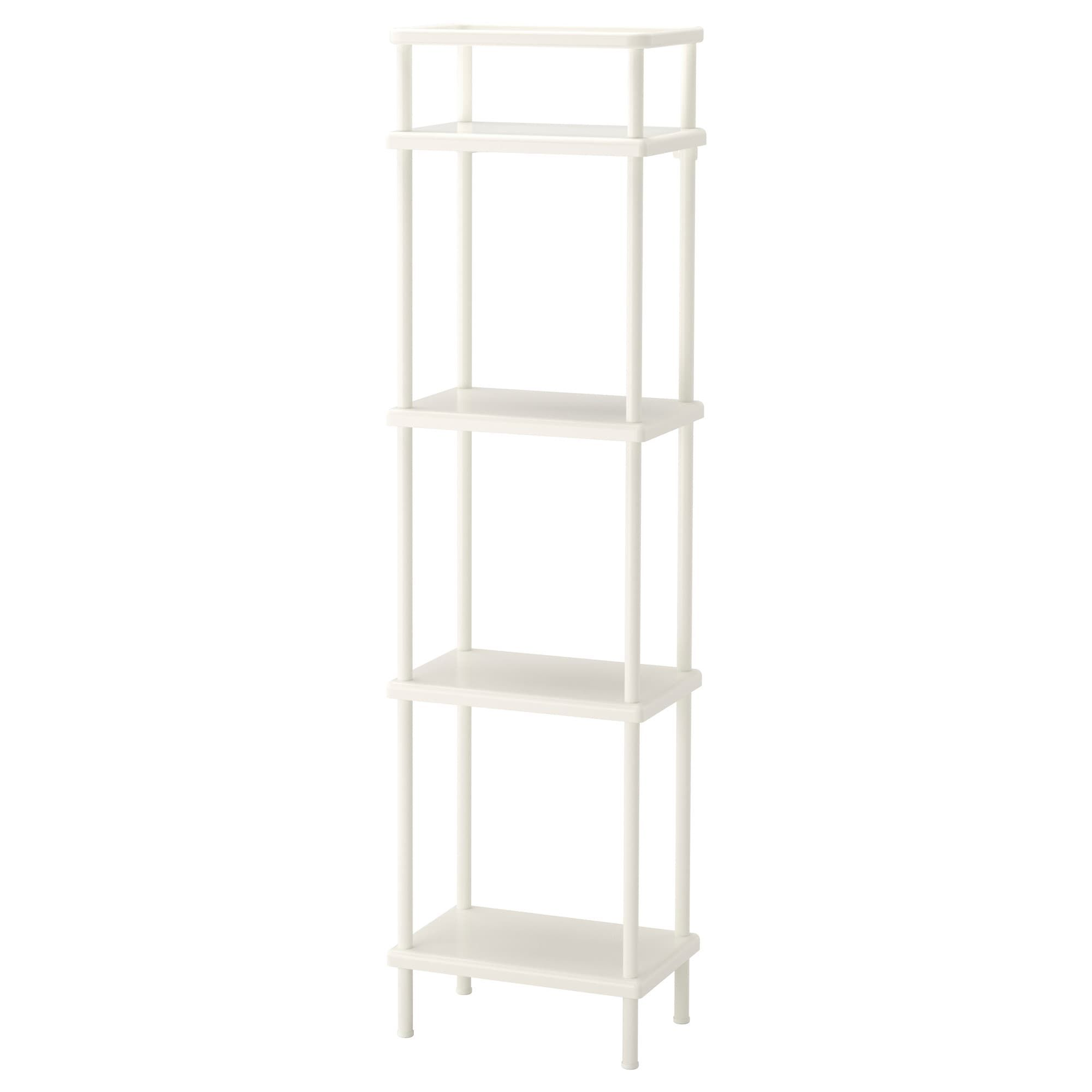 Dynan Shelf Unit White 15 3 4x10 5 8x58 1 4 Ikea Idees Etageres Ikea Dynan Etageres Ouvertes