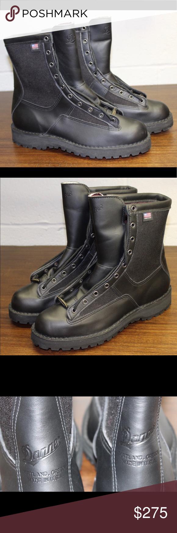 "d4ea5d8c5a1 🚨 Danner Acadia 8"" Military Leather Black Boots Danner Acadia 8 ..."