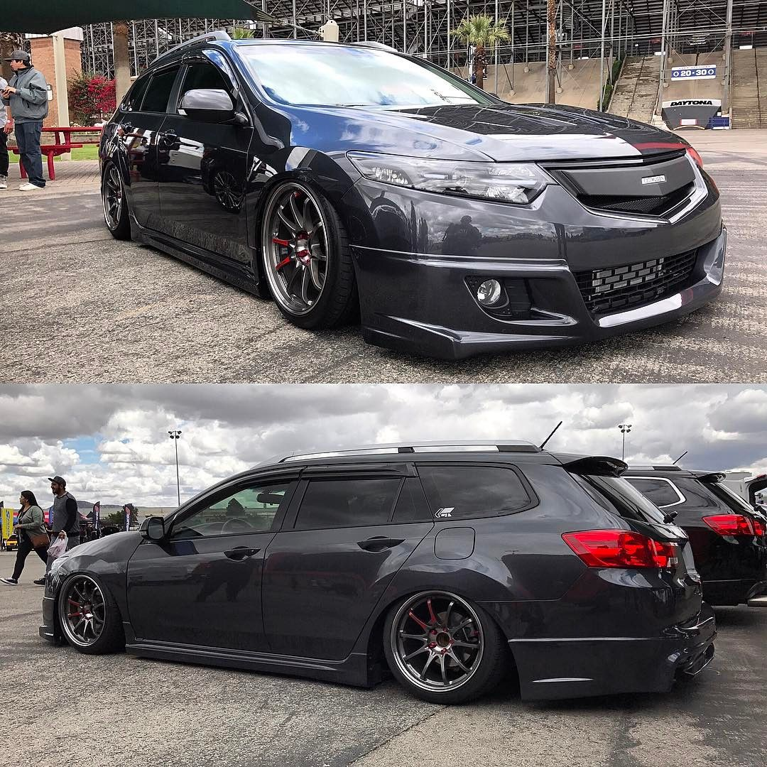Acura TSX Wagon Super Charged & Loaded With Mugen Goodies