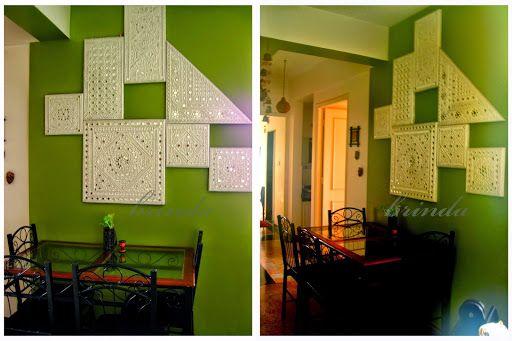 Pin By Yasha Srivastava On Lippan Work Traditional Wall Art Clay Wall Art Wall Art Decor