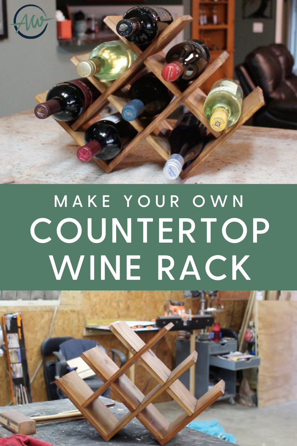 Diy Countertop Wine Rack Countertop Wine Rack Wine Rack Diy