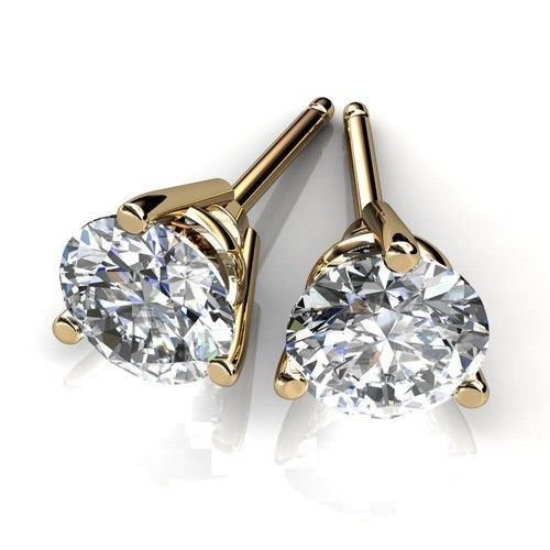Diamond Stud Earrings For Men And Women In Atlanta Georgia