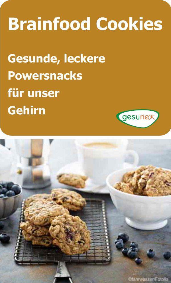 gesunde brainfood cookies selber machen powersnacks f r das gehirn gesunde ern hrung. Black Bedroom Furniture Sets. Home Design Ideas