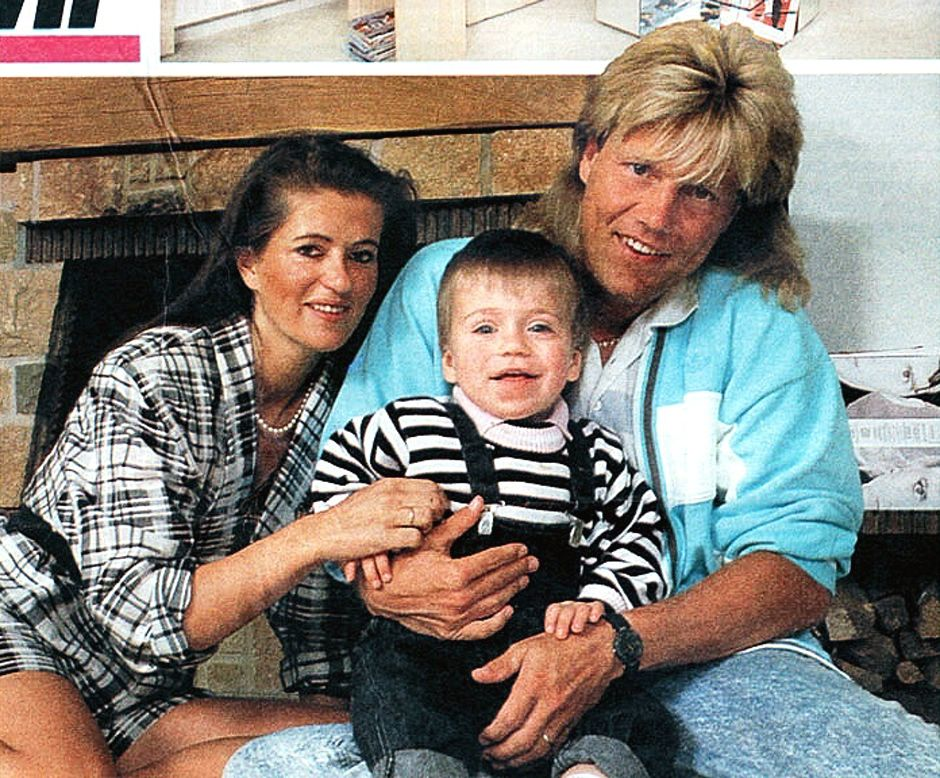 Dieter Bohlen With His Wife Erika And Son Mark