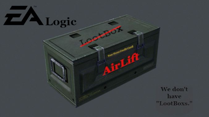 EA announces they no longer do Lootboxes.  5167d7c26b314
