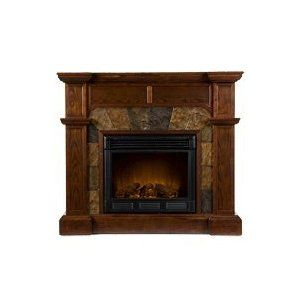 Electric Fireplace Can Be Used Against A Wall Or In A Corner
