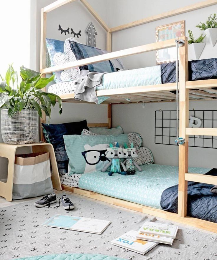 42 Fascinating Shared Kids Room Design Ideas images