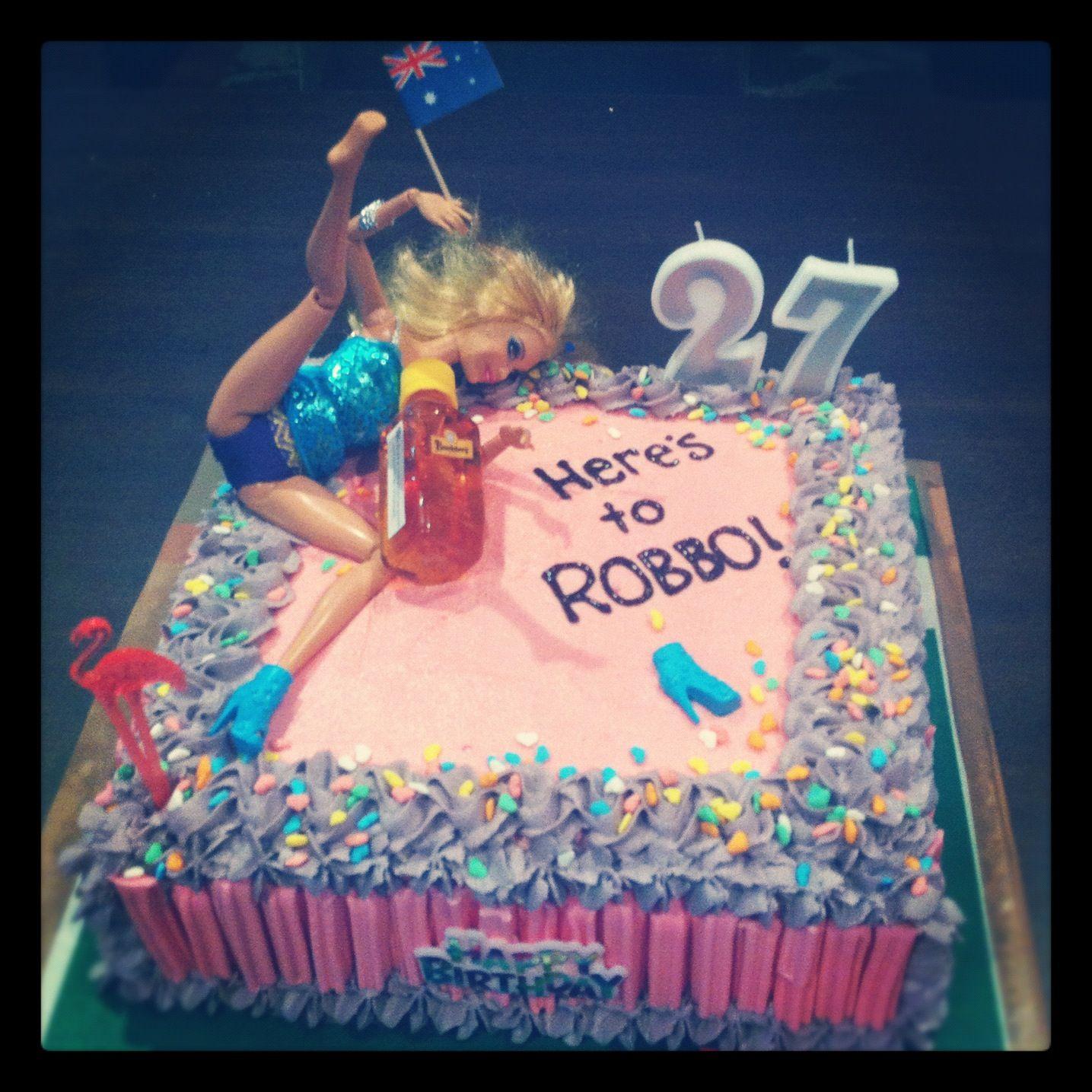 Aussie Bogan Theme Cake