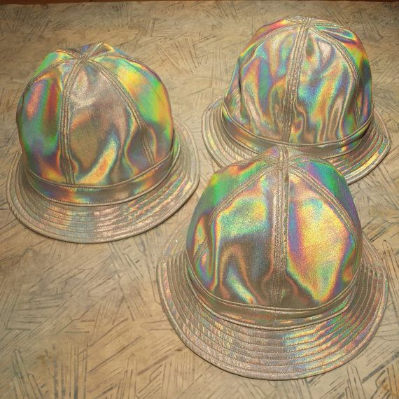 323c8aa52 rojas silver or gold 3d hologram prism buckethats by rojasclothing ...