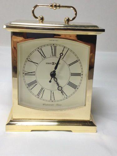 Vintage Br Howard Miller Westminster Chime Mantle Clock Model 612 735
