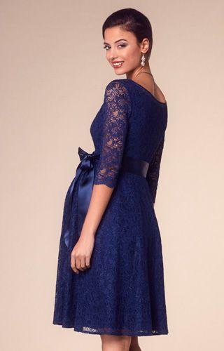 d3f9543f1ac Freya Maternity Dress Short Arabian Blue - Maternity Wedding Dresses