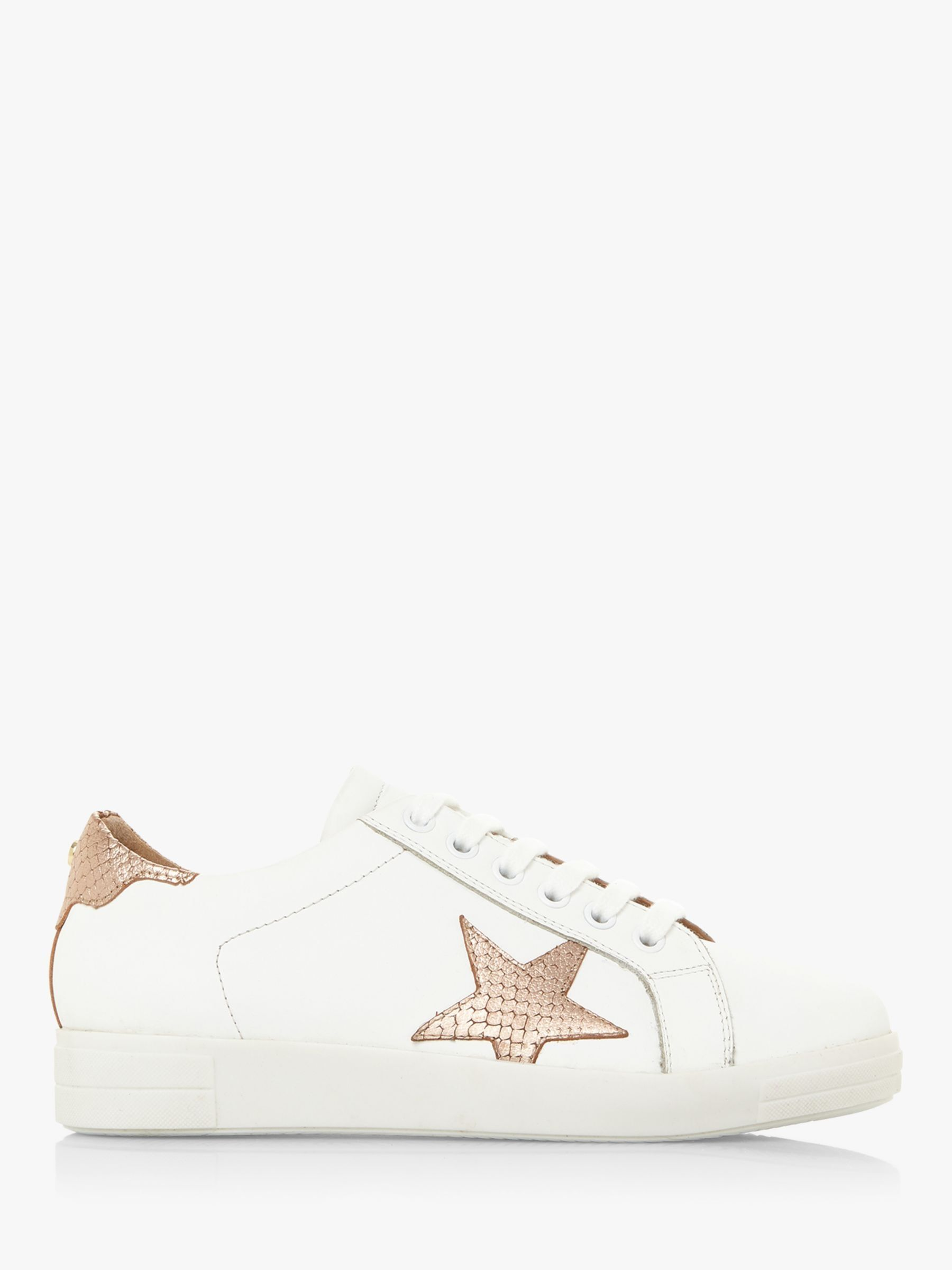 Dune Edris Leather Lace Up Star