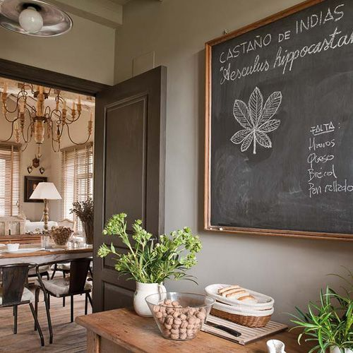 love this chalkboard door to write messages on! | Fun Stuff ...
