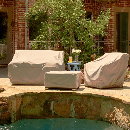 The Ultimate Protection For Your Outdoor Lifestyle Ultima Collection Chair Covers By Covermates