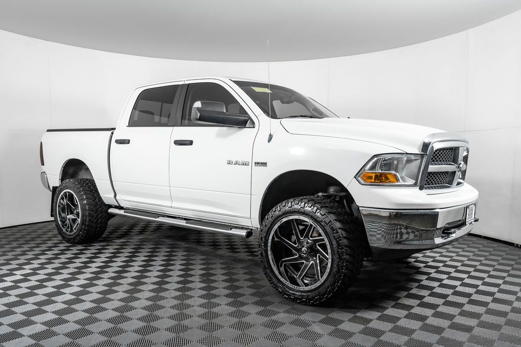 Used Lifted 2010 Dodge Ram 1500 SLT 4x4 with 107,937 miles