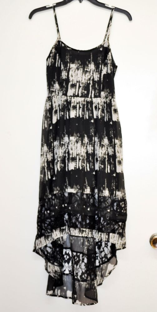 Black lace dress xs tennis