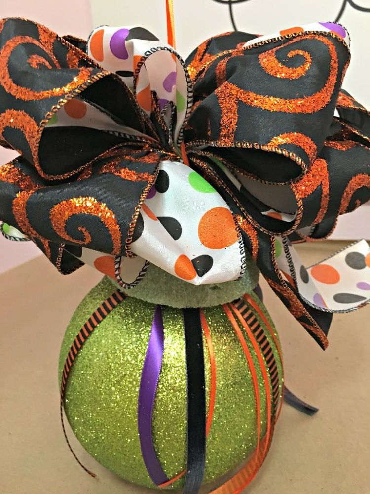 pick up some big christmas ornaments now Halloween Pinterest
