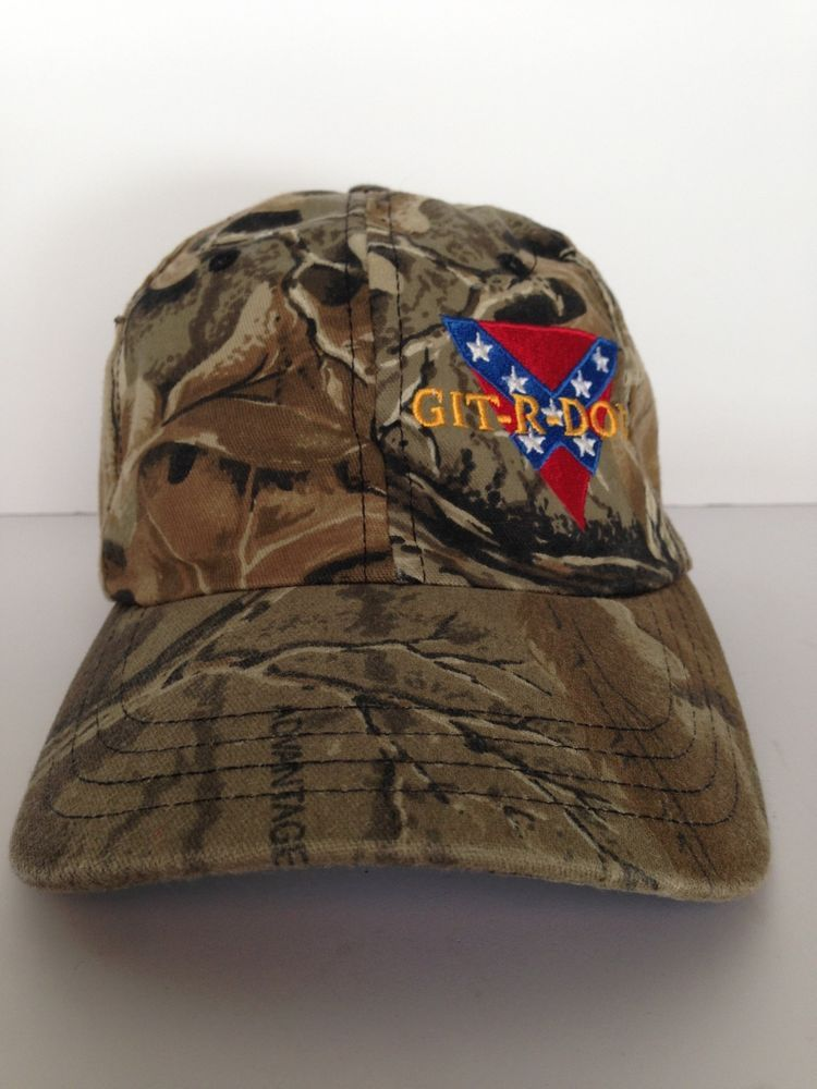21bb7df037e Git R Done Larry The Cable Guy Camo Cap Multi Color One Size