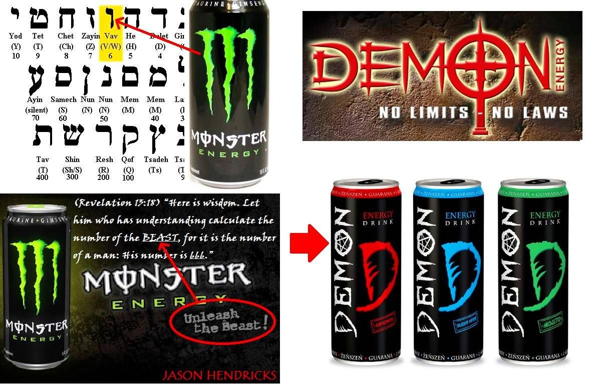 This Is Subliminal Cultic Advertising Monster Energy Drink S Logo Is Made To Look Like A Claw Rippi Monster Energy Drink Monster Energy Drink Logo Drinks Logo