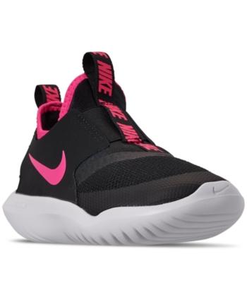 Nike Little Girls' Flex Runner Slip On Athletic Sneakers