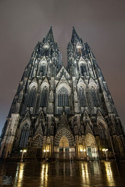 The Cathedral Of Cologne Cathedral Gothic Cathedrals Church Architecture