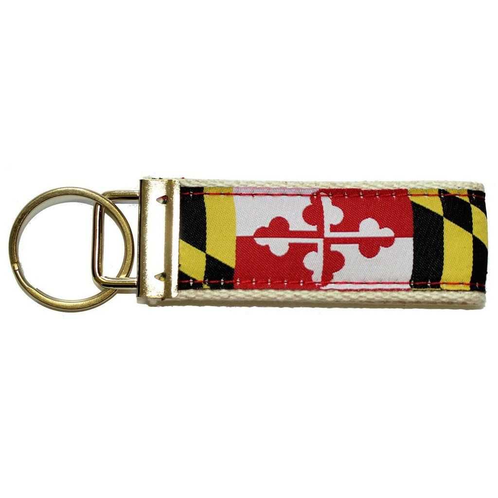 Maryland Flag Key Chain Maryland Flag Keychain Flag