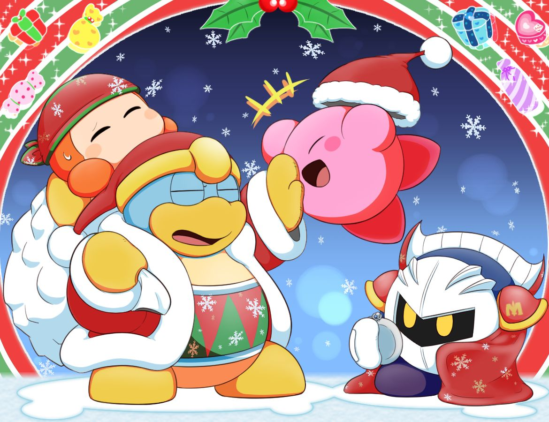 Kirby Christmas   Kirbs   Pinterest   Nintendo, Kirby character and ...