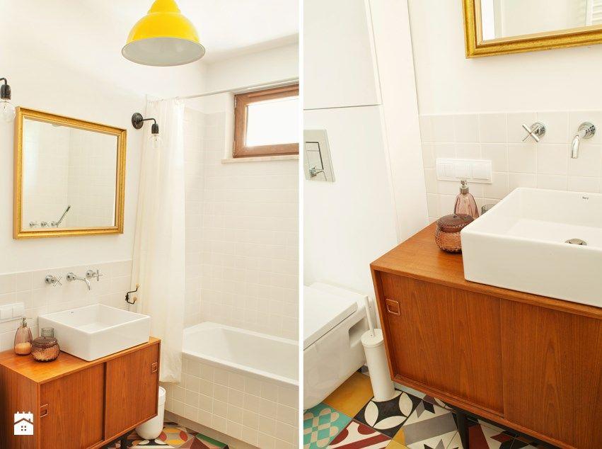 Casinha colorida: Dois apartamentos coloridos com inspiração nos anos 60
