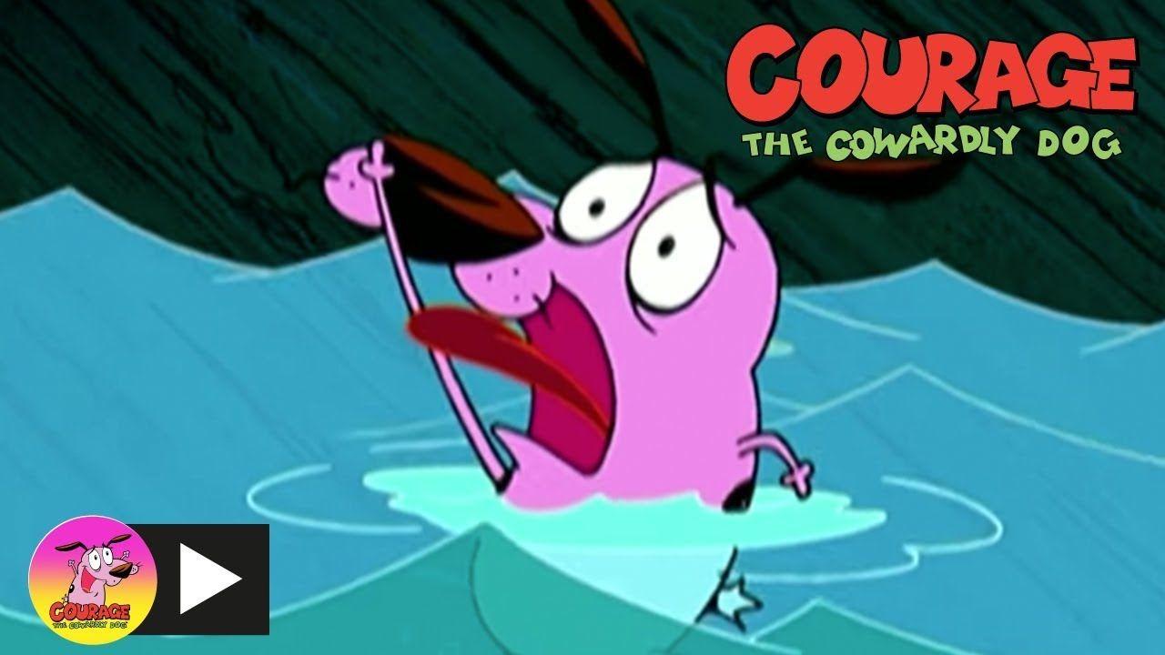 Courage The Cowardly Dog House Flood Cartoon Network Flooded