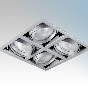 Mains Voltage CDM-T (G12) Recessed Multiple Spotlights
