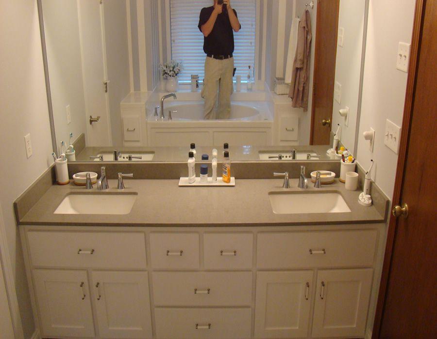 the fascinating photo below is section of bathroom on custom bathroom vanity plans id=14964