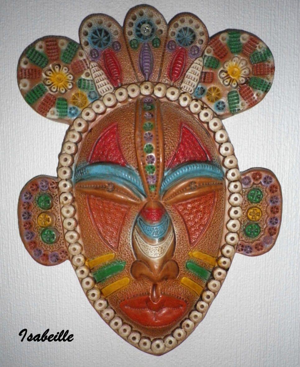 Masque africain pour la classe pinterest masques - Masque africain a imprimer ...