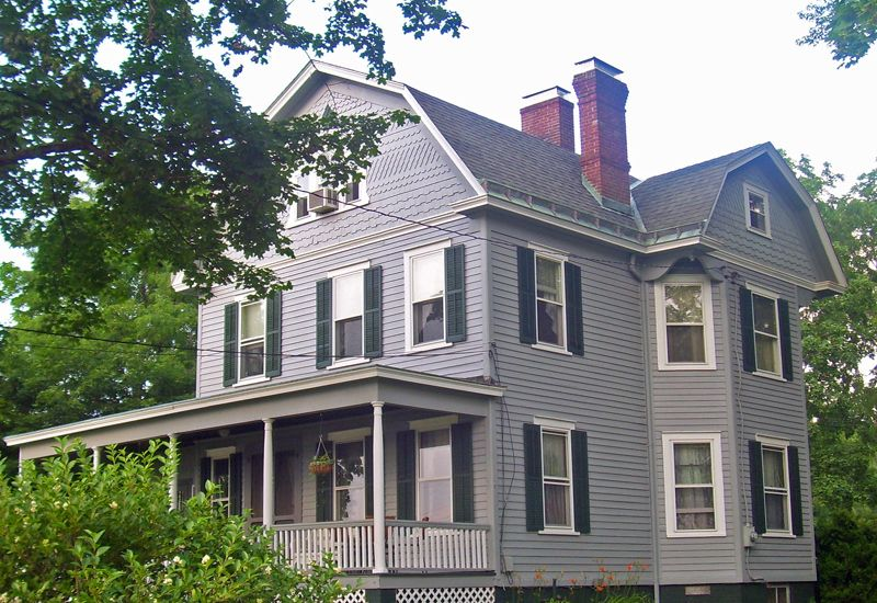 gambrel roofs fall under the general classification of curb roofs