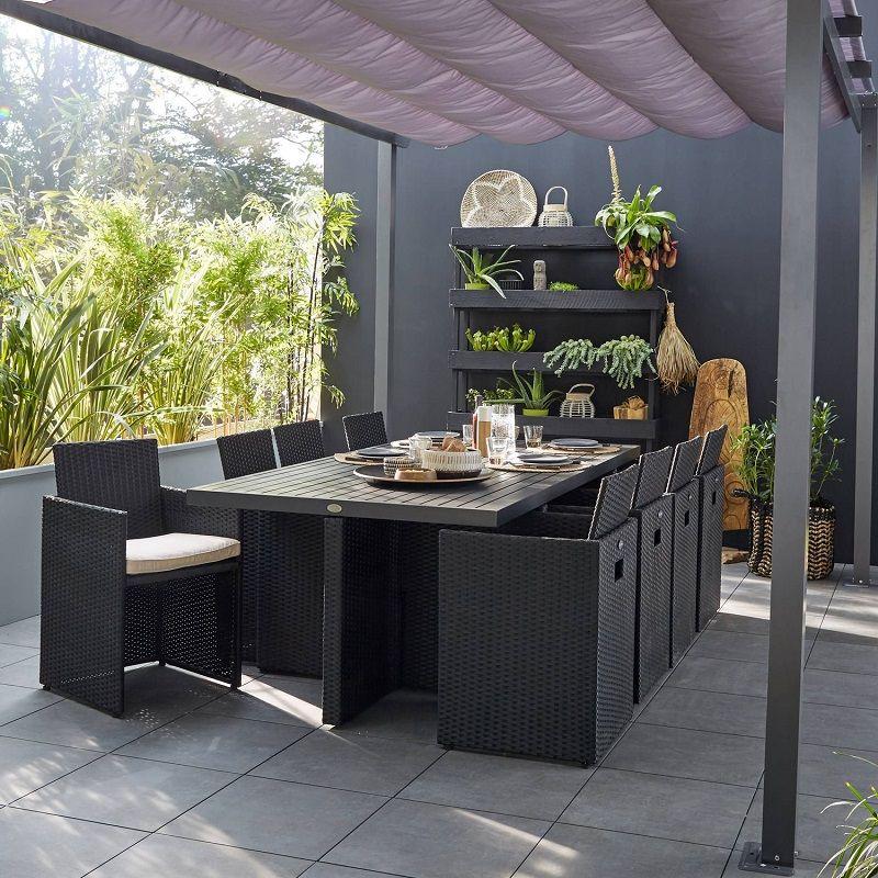 Salon De Jardin Encastrable Resine Tressee Noir Salon De Jardin Leroy Merlin Iziva Com Salon De Jardin Encastrable Salon De Jardin Design Meuble Jardin