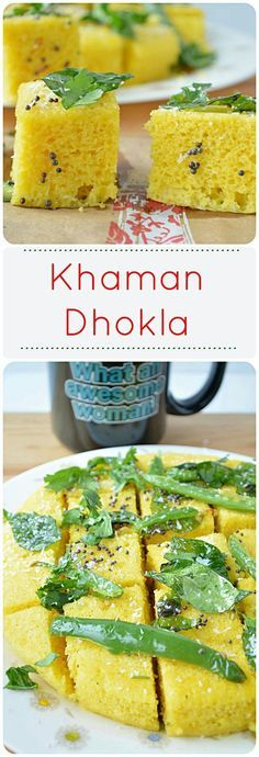 Instant khaman dhokla recipe gram flour snacks and cake foods forumfinder Gallery
