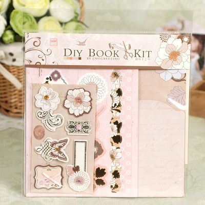 Cheap Vintage Mini Diy Papel Scrapbooking Album De Fotos Material