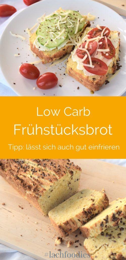 Lachfoodies Low Carb Frühstücksbrot