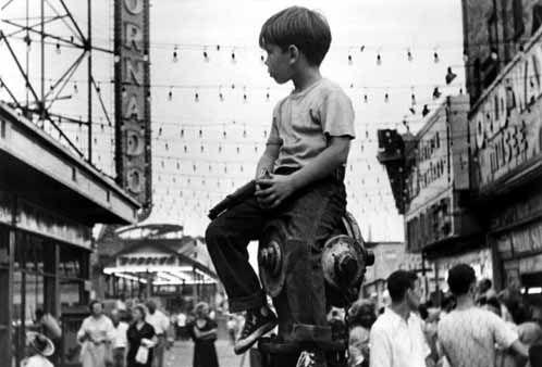 Little Fugitive | U | USA |  English  | 1953 | 80 mins | Morris Engel | Ruth Orkin | Ray Ashley | Richie Andrusco || Screening as part of The Cinema of Childhood season. || 26 May 2014 @ GFT