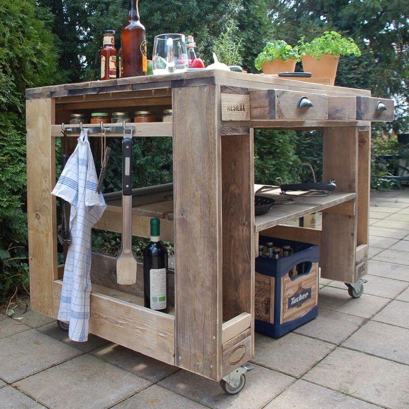Photo of ᐅ garden furniture from pallets | DIY tips & pallet furniture shop