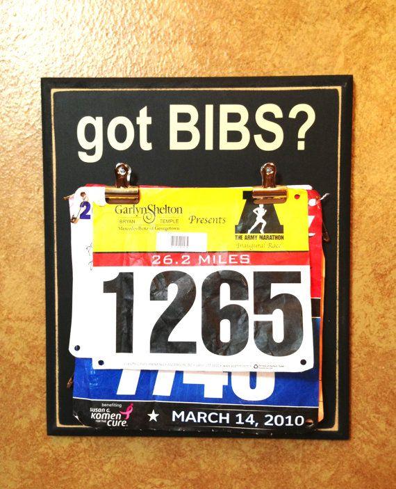race bib holder marathon half marathon gifts got bibs via etsy or www