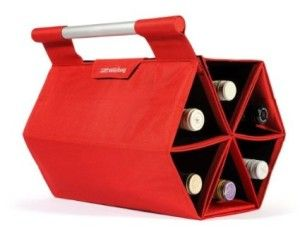 Heads Up Wine Carrying Case On Lightning Deals Wine Carrying Case Bottle Storage Wine Bottle Carrier