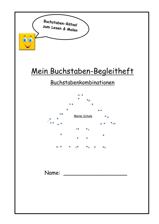 Klaro Daz Forder Alphabetheft Buchstabenkombinationen Unterrichtsmaterial In Den Fachern Daz Daf Deutsch Buchstaben Leseverstandnis Alphabet