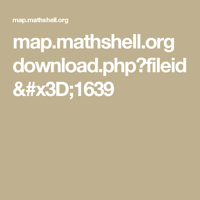 mapthshell p fileid 1639 volume surface area